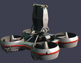Hovering radar platform 3D model