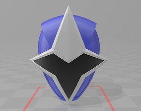 3D printable model Power Rangers Blue Ninja Steel Ranger 1