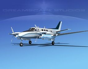 3D Beechcraft King Air C90 V11