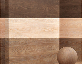 3D Wood material - palisander seamless