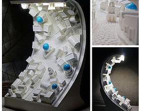 3D print model Night lamp Santorini