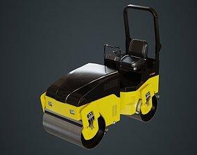 Road Roller 1A 3D model