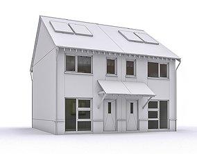 Townhouse 02 3D asset VR / AR ready