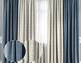 Curtain Set 134 3D model