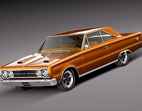3D model Plymouth GTX hardtop 1967