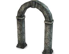 Ancient Stone Portal 3D Model
