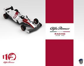 racing 3D Alfa Romeo Racing C39 Formula 1