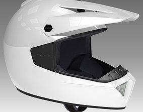 Generic Motocross Helmet 3D model