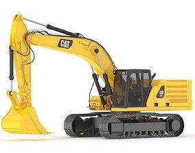 3D model Cat 336 Excavator