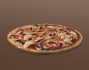 Food Pack of Pizza 3D asset