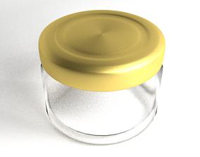 3D model Low Jar