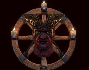 Demon-head 3D printable model