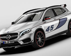 Mercedes Benz GLA 45 AMG 3D model