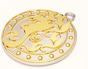 3D print model Divine shield Hippocampus