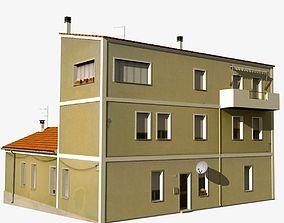 3D model Village Home W-N