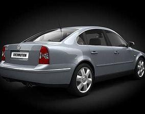Car Volkswagen Passat B5 3D model