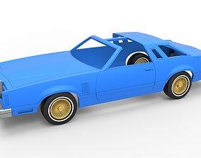 Diecast shell and wheels Thunderbird 3D print model 5
