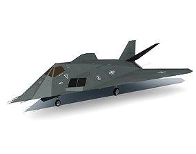 3D model Stealth Fighter