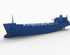 3D printable model NEDLLOYD DELFT ship