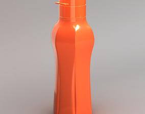 3D model Tupperware Inspired Water Bottle