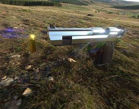 3D asset Desert Eagle 44 Pistol