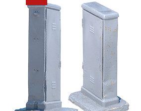 Electric Shield 192 3D asset