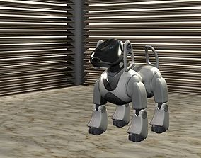 Robot Dog AIBO 3D asset