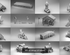 BIG set vikings 3D