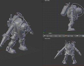 3D print model Big Daddy figurine - Bioshock