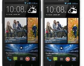 HTC Desire 516 All Color 3D model