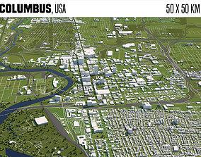 3D model Columbus