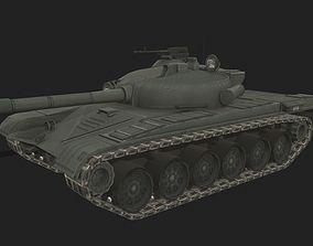 Tank T-72 3D model