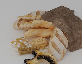 sandwich 3D bread