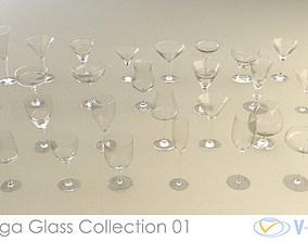 Mega Glass Collection 01 3D model