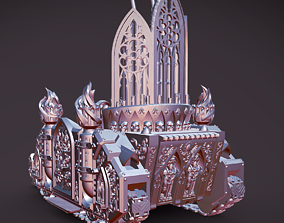 Space Nun Organ Tank Missile launcher 3D printable