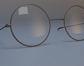 3D model Harry Potter like glasses
