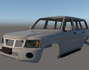 Nissan Patrol Mk5 Y61 5door 2004 Ver 2 3D printable model