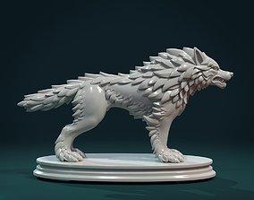 Wolf Sculpture 3D printable model