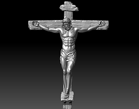 jesus christ crucifixion 3D printable model