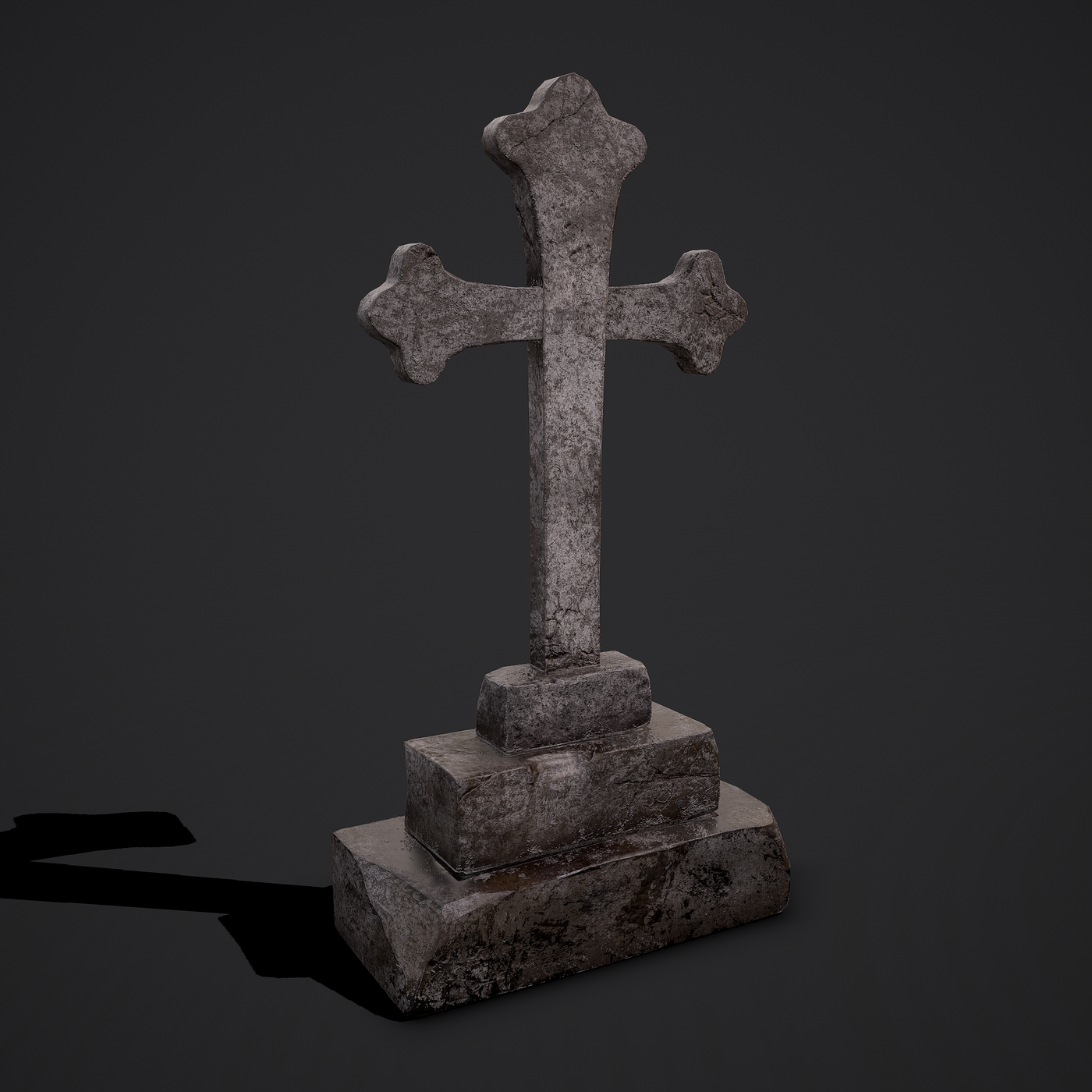 Cross Coffin