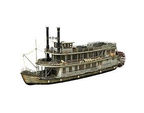 Steamboat 3D model