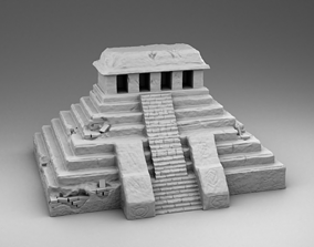 Destroyed build of the Maya 3D print model