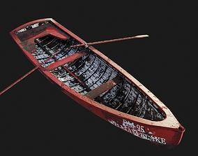 3D model The Boat William Blake