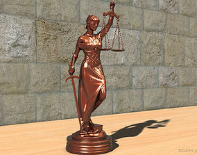 3D print model Statue Themis