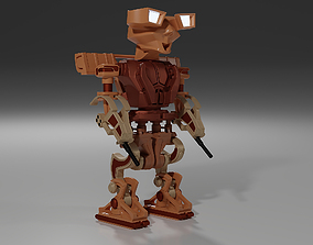 3D print model Robot brave soldier