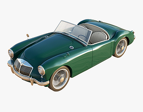 MGA Car 3D model