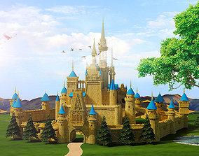 Castle 3D model game
