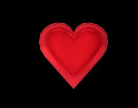 Heart 3D asset