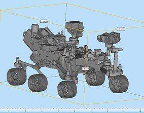 3D printable model Perseverance Rover Highly Detailed