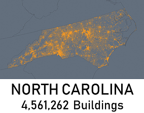 North Carolina - 4561262 3D Buildings realtime